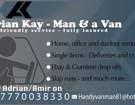 vijayanimation tarafından Design some Business Cards for removals/handy man için no 15