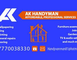 atiquecse11 tarafından Design some Business Cards for removals/handy man için no 20