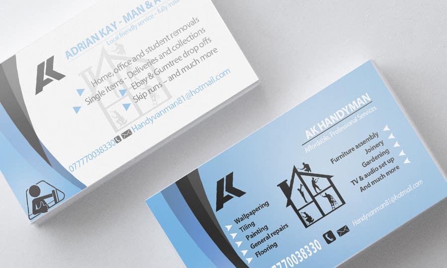 Kilpailutyö #23 kilpailussa Design some Business Cards for removals/handy man