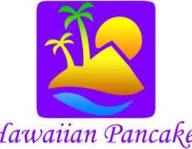 Nro 17 kilpailuun Design a Logo for Hawaiian Pancakes käyttäjältä MegaAlexK