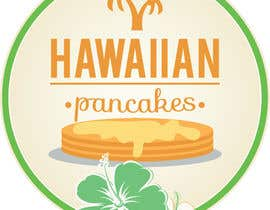 Nro 8 kilpailuun Design a Logo for Hawaiian Pancakes käyttäjältä ongfw