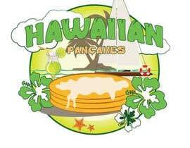 Nro 24 kilpailuun Design a Logo for Hawaiian Pancakes käyttäjältä Kh4nhKh4nh