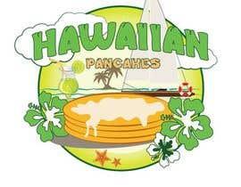 Nro 25 kilpailuun Design a Logo for Hawaiian Pancakes käyttäjältä Kh4nhKh4nh