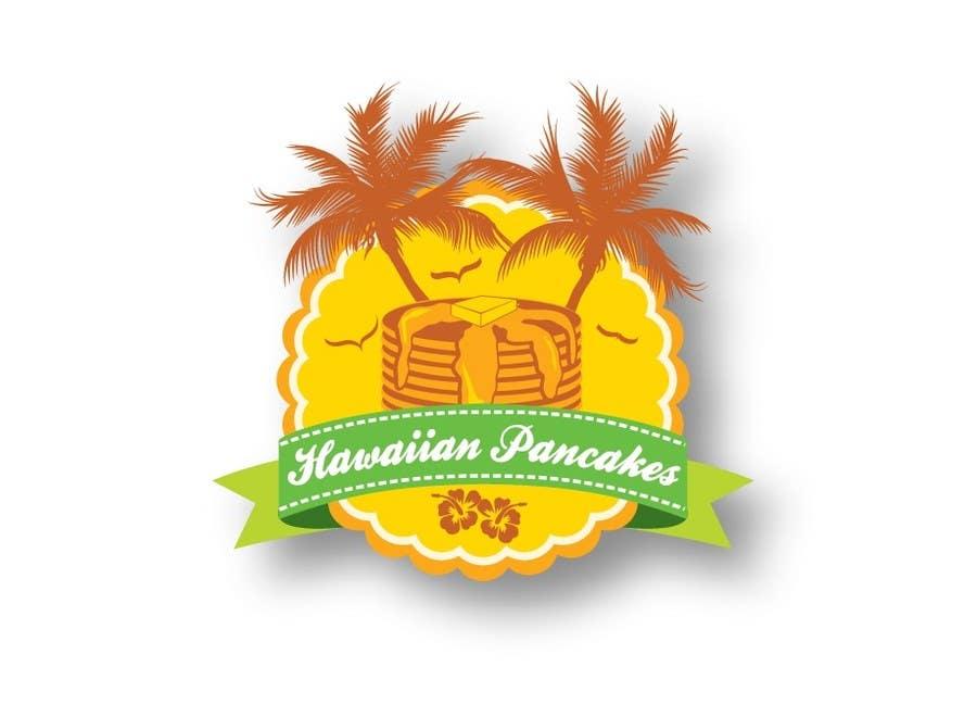 Kilpailutyö #6 kilpailussa Design a Logo for Hawaiian Pancakes