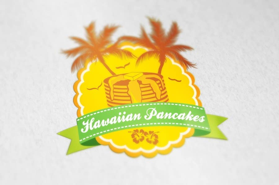 Kilpailutyö #7 kilpailussa Design a Logo for Hawaiian Pancakes