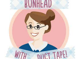 "asanilta tarafından Design a Logo for my ""Bunhead with Duct Tape"" Website/Blog/Business Cards için no 2"