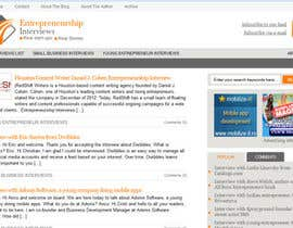 #7 for Design a Logo for Entrepreneurship-interviews.com af Superiots