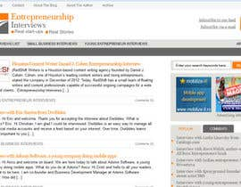 #9 for Design a Logo for Entrepreneurship-interviews.com af Superiots