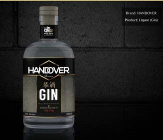 #218 untuk Design a Logo and bottle label for Handover Gin oleh chubbycreations