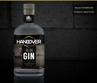 #219 untuk Design a Logo and bottle label for Handover Gin oleh chubbycreations