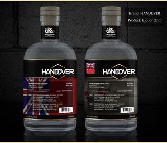 #220 untuk Design a Logo and bottle label for Handover Gin oleh chubbycreations