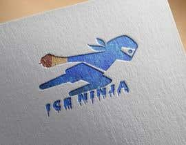 Nro 16 kilpailuun Logo for Ice Ninja käyttäjältä oussamabenmariem