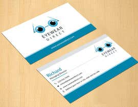 #106 untuk Design some Business Cards for Eyewear Direct oleh dinesh0805