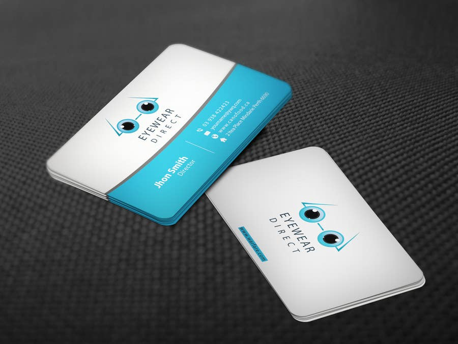Penyertaan Peraduan #108 untuk Design some Business Cards for Eyewear Direct