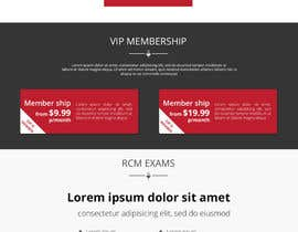 #4 untuk Design a Website Mockup for Voice Talent Group (Vocal School) oleh rajark