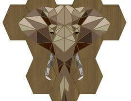 #30 untuk Illustrate a geometric animal head oleh SJensen13
