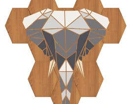 #28 for Illustrate a geometric animal head af SJensen1327