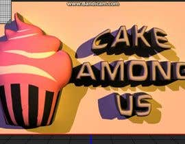 "#42 para Design a Logo for Bakery / Donut / Cake Shop ""Cake Among Us"" por diegoedson"