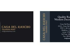 #36 untuk Design a Logo and Identity for Casa Del Ranch Trading Post oleh sumithkurumali