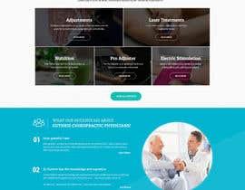 #20 untuk Design a Website Mockup for Guthrie Chiropractic oleh massoftware