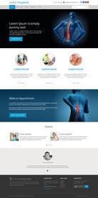 #40 untuk Design a Website Mockup for Guthrie Chiropractic oleh ankisethiya