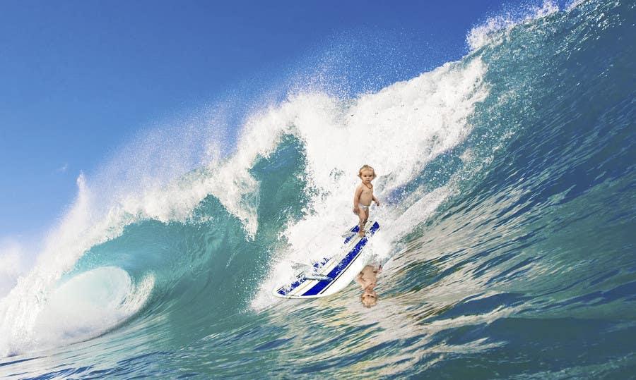 Kilpailutyö #8 kilpailussa SURFING BABY!