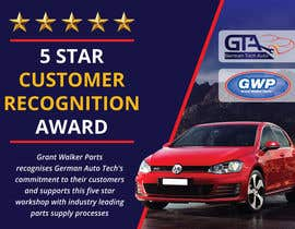 #31 untuk Illustrate Something for 5 Star Customer Recognition Award oleh Dezign365web