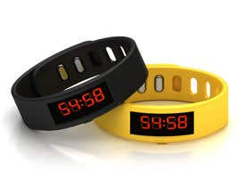 #39 para Design me a digital counting wristband por sathishcaddesign