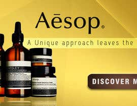 #10 for Design a Banner for one of our brands (AESOP) af adidoank123