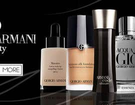 #18 untuk Design a Banner for our Products (ARMANI) oleh alromisa