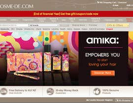 #18 para Design a Banner for our products (AMIKA) por jonapottger
