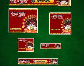#6 para Design a Banner for Casino website por mahiweb123