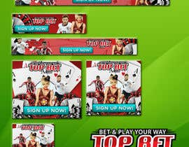 #36 para Design a Banner for Casino website por adidoank123