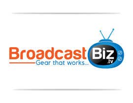 "#13 untuk Design a Company Logo and mascot for ""BroadcastBiz.tv"" oleh georgeecstazy"