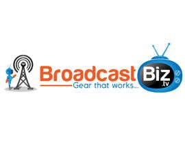 "#26 untuk Design a Company Logo and mascot for ""BroadcastBiz.tv"" oleh georgeecstazy"
