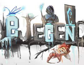 Nro 4 kilpailuun eLEGEND - Online Gaming Arena Social Network Logo käyttäjältä GSteakleyDesign