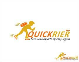 #24 cho Design LOGO for QUICK RIER (fast / courier) bởi pherval