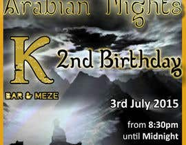 "#38 untuk Design a Flyer/Poster for ""ARABIAN NIGHTS"" Theme Event oleh stefanphoto"