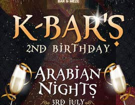 "#21 cho Design a Flyer/Poster for ""ARABIAN NIGHTS"" Theme Event bởi nikolaipurpura"