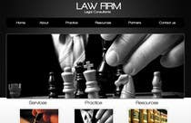 Bài tham dự #6 về Graphic Design cho cuộc thi Build a Website for Law Group