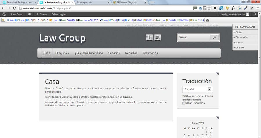 Bài tham dự cuộc thi #                                        44                                      cho                                         Build a Website for Law Group