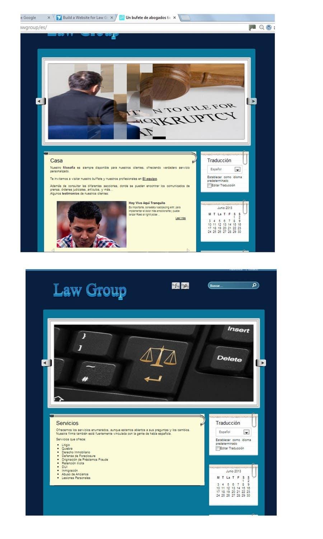 Bài tham dự cuộc thi #                                        49                                      cho                                         Build a Website for Law Group