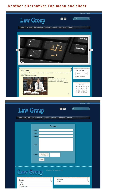 Bài tham dự cuộc thi #                                        51                                      cho                                         Build a Website for Law Group