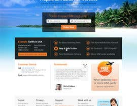 #47 for Make a new design for homepage... by elshahat