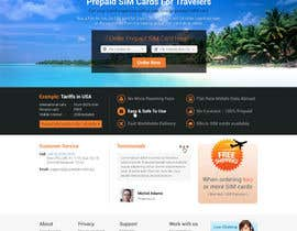 #48 for Make a new design for homepage... by elshahat