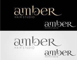 #42 for Design a logo amber hair studio af stoilova