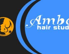 Nro 31 kilpailuun Design a logo amber hair studio käyttäjältä luckysufiyan143