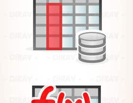 nº 13 pour Design some Icons for database icon set par dirav