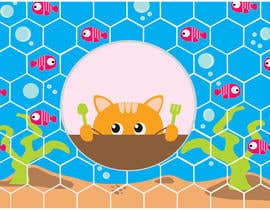 #36 for Design placemat for cats af merilarenas