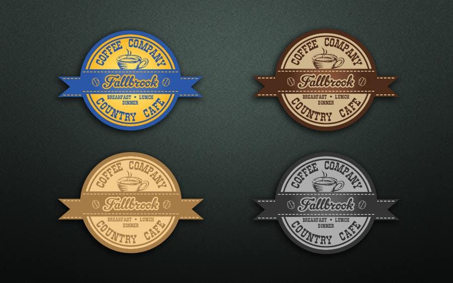 Penyertaan Peraduan #46 untuk Fallbrook Coffee Company Logo